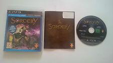 JUEGO SORCERY MOVE SONY PAL PLAYSTATION 3 PS3 CASTELLANO. BUEN ESTADO