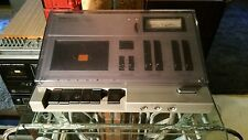 Aiwa AD-1250 full auto dolby mpx bias eq with dust cover 2 head cassette deck