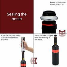 Brewberry Premium acero inoxidable abridor de vino eléctrico con el cortador de papel de aluminio