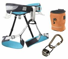 Black Diamond Primrose Harness Package Medium Climbing ATC Rocklock Belay