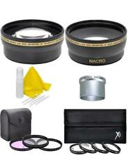 Accessory Lens Filter Macro Kit for Canon PowerShot A570 A580 A590 IS
