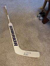 Pekka Rinne Nashville Predators Autographed Game Used Warrior Stick