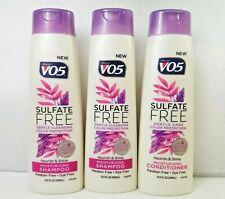 Alberto VO5 Sulfate Free Nourish Shine Moisturizing Shampoo Conditioner 3-12.5oz