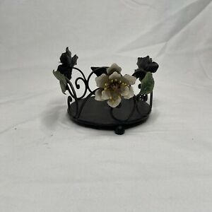 Plum Blossom Wax Candle Holder Home Decor Floral Flower Kitchen Smell