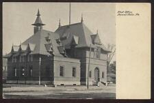 Postcard BEAVER FALLS,Pennsylvania/PA   Post Office view 1907?