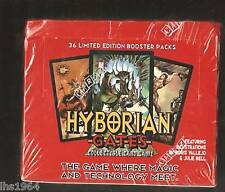 HYBORIAN GATE CCG BOOSTER CARDS BOX 36 PACKS VALLEJO BELL OOP FACTORY SEALED