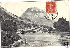 38 - cpa - GRENOBLE - L'Isère et le Saint Eynard