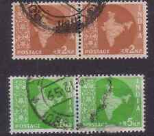 INDIA 1957 SG376.SG402. PAIRS