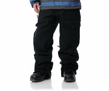Aperture Undercut Pants Mens Snowboard Ski 10k Waterproof Cargo Black L XL
