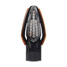 Señal de Oxford 2 LED luz de Motocicleta Punta Negra Corta camino legal indicadores EL302