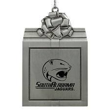 University of South Alabama -Pewter Christmas Holiday Ornament-Silver