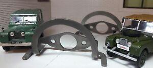 Series 1 2 Lucas FW2 Windscreen Wiper Motor Stainless Steel Park x2 Land Rover