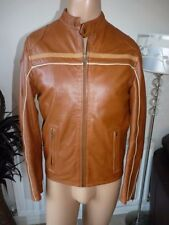 Topman Collared Waist Length Leather Coats & Jackets for Men