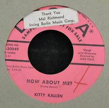 Kitty Kallen DECCA 30049 How About Me