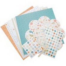 Autumn Leaves - Mod Daydream Page Kit Set - Paper Stickers Alphabet RubOns Ideas