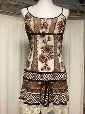 Plenty By Tracy Reese Sleeveless Strap Cotton Knit Printed Dress 4