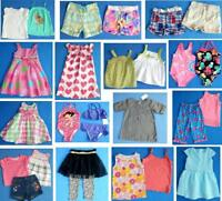 NICE Lot 25 pc girls Spring Summer clothing 2T 24mths Tops shorts FAST SHIP~2S13