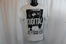 NWT men's Calvin Klein jeans CK Digital T-shirt tee shirt size M white