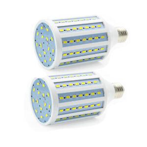 2PCS 100W Equivalent LED Corn Bulb Light E26 Socket 20W 6000K Cool White 2000LM