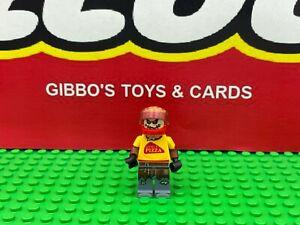 LEGO SCARECROW pizza delivery guy minifigure BATMAN MOVIE set 70910 figure