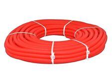 Flexibles Wellrohr M25 25 m Rot Ring Elektrorohr Schutzrohr Leerrohr