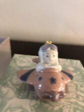 Lladro Santa's Workshop Little Aviator Ornament #06343 Excellent Condition