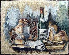 Mosaic Kitchen Backsplash- Contemporaneo Food And Drink Mosaic Tile