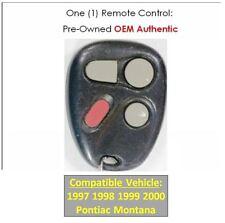 97 98 99 00 Pontiac Montana keyless remote entry clicker factory OEM keyfob