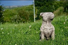 STAFFY STAFFORDSHIRE BULL TERRIER DOG Patio Stone Bespoke Handmade Ornament Gift