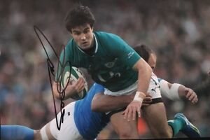 CONOR MURRAY - IRELAND RUGBY- BRITISH LIONS - LEGEND - SIGNED 12X8 PHOTO