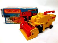 Vintage 1977 Matchbox 1-75 Series #51 Combine Harvester New in Original Box