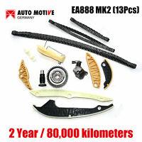 13pcs EA888 MK2 Timing Chain Kit Fit for AUDI VW 2.0 T TFSI EOS GTI A3 A4 A5 Q5