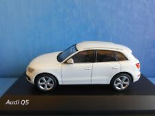 AUDI Q5 2013 TFSI WHITE PHASE 1 SUV SCHUCO 1/43 WEISS BLANCHE BIANCA BLANC