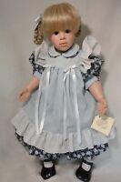 Hildegard Gunzel Doll LeeAnn Blond Hair Blue Eyes