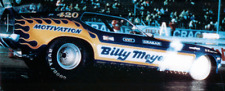 Billy Meyer 1973 Ram Air Mustang1/43rd Scale Slot Car Decals