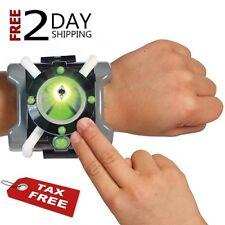 Ben 10 Ten Omnitrix Toy Watch Roll Play Alien Hero Hex Diamondhead Four Arm etc
