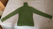 Maglione Lupetto S verde chiaro 100% lana vergine marca My Time