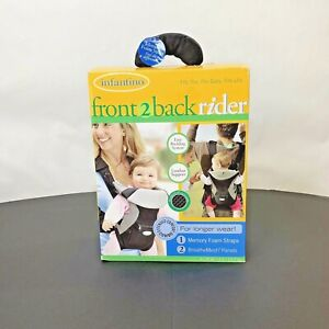 Infantino Flip Front 2 Back Rider 8-28 Lbs 3.6-12.7 Kgs Breather Mesh New Open.