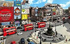 BR77690 coca cola double decker bus car london piccadilly circus  uk 14x9cm