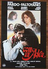 Used - Sign of Cinema Com Un Adéu Vintage Movie Film Poster - Used