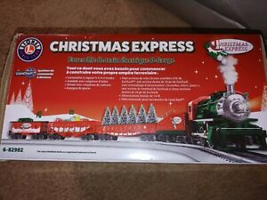 Lionel Christmas Express Train Set- Lion Chief- Gently Used-Great Condition