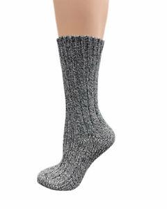 Regenerated Sierra Socks Women's Perfect Fit Outdoor Wool Wide Calf Crew Socks