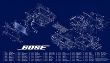 Comprehensive Bose service, user manuals and schematics