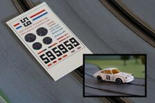 Decalcomanies / decals voiture circuit Jouef Porsche 911 Brumos (1/40 - 1/43)
