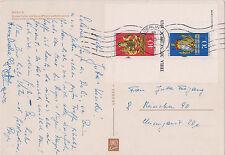 BRD-1973-Kongress Philatelistenverb.(FIP)+Briefm.-Ausst.(IBRA)München-Bl:9-Kart
