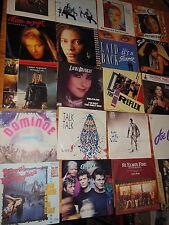 ROCK/POP 80' - 20 VERSCHIEDENE ORIGINAL 7'' VINYL-SINGLES MOYET, CHRIS NORMAN