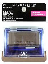 Maybelline Ultra-Brow Powder 20 Dark Brown Eyebrow Color Makeup 404 New Look