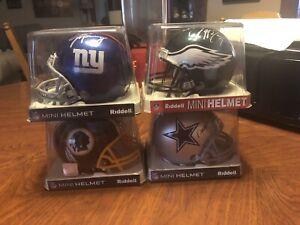 autographed mini nfl football helmets