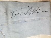 Vintage Wrangler Jeans Worn & Autographed by TRACE ADKINS Country Singer 34/38