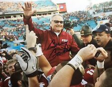 BOBBY BOWDEN FLORIDA STATE SEMINOLES AUTOGRAPHED SIGNED 8X10 FINAL GAME PHOTO